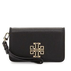 Tory Burch Accessories - NWT Tory Burch Britten Smartphone Wallet Wristlet